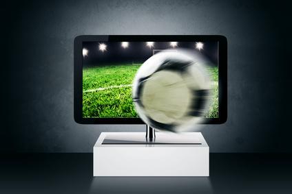 Ein Fernseher mit 3D-Technik